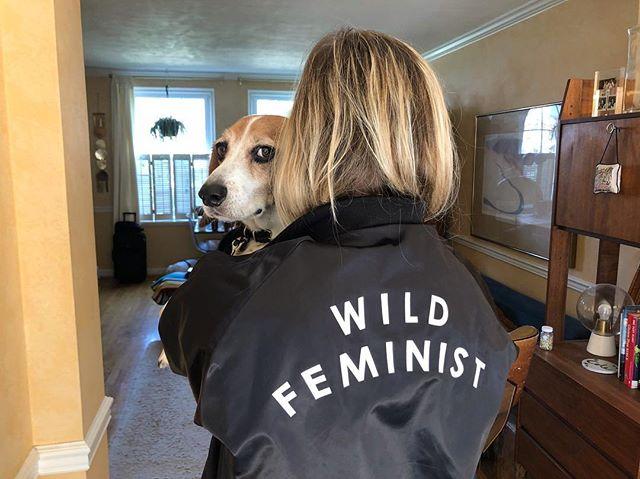 Wild feminist, untamed woman, beast wrangler.