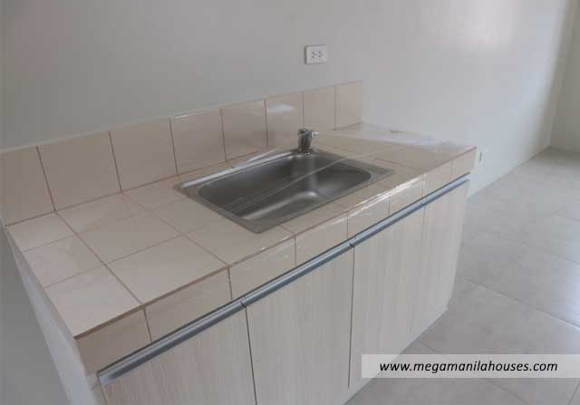 Designer Series 142 at Citta Italia - Luxury Homes For Sale in Citta Italia Bacoor Cavite Turnover Kitchen Sink
