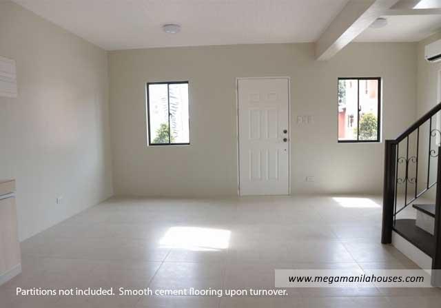 Designer Series 142 at Citta Italia - Luxury Homes For Sale in Citta Italia Bacoor Cavite Turnover Living Area