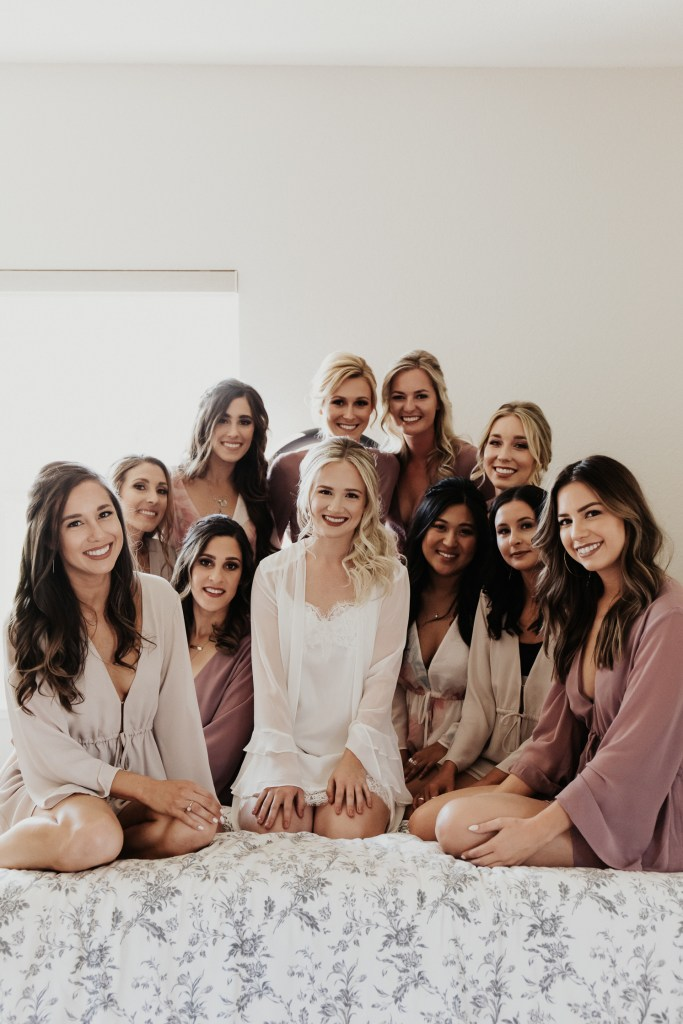 Megan Claire Photography | Northern California Wedding Photographer. Bridal party getting ready photos @meganclairephoto