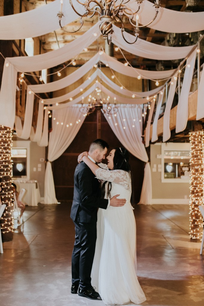 Megan Claire Photography   Arizona Wedding Photographer. Beautiful church wedding. Bride  and Groom wedding reception at elegant barn in Gilbert, Arizona