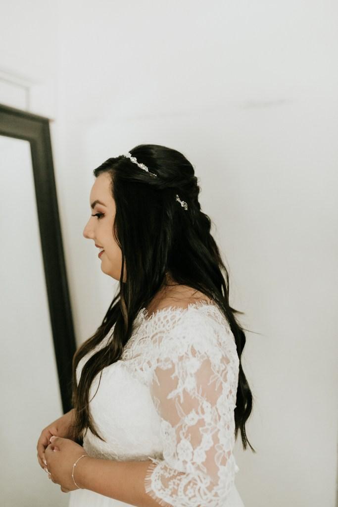 Megan Claire Photography   Arizona Wedding Photographer. Bride getting ready photos