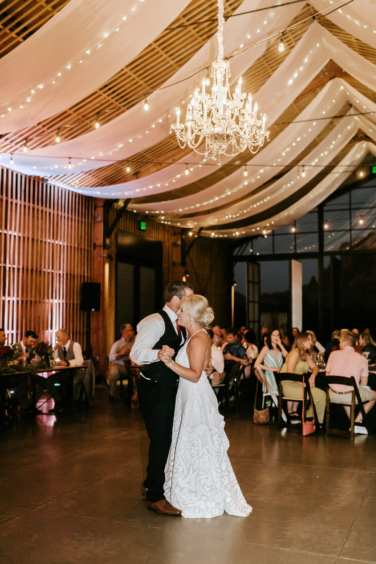 Megan Claire Photography | Arizona Wedding Photographer. Beautiful fall wedding in the desert at the Paseo in Apache Junction, Arizona near superstition mountains. first dance photos @meganclairephoto