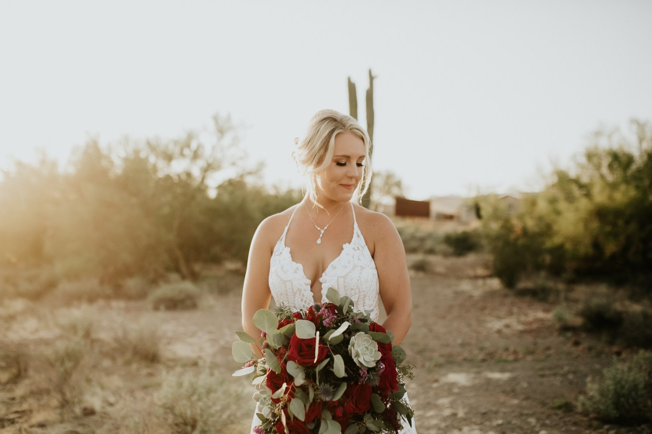Megan Claire Photography | Arizona Wedding Photographer. Beautiful fall wedding in the desert at the Paseo in Apache Junction, Arizona near superstition mountains. desert bridal photos @meganclairephoto