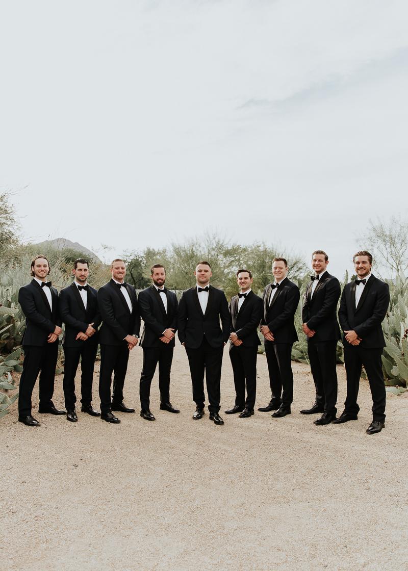 Megan Claire Photography | Arizona Wedding Photographer. Megan-Claire.com  Scottsdale Arizona Resort Wedding at Andaz Resort. Groomsmen photos @meganclairephoto