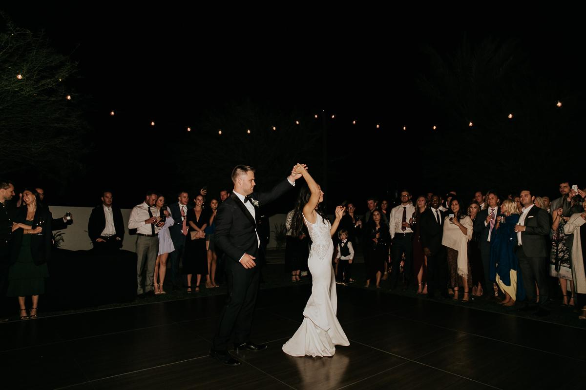 Megan Claire Photography | Arizona Wedding Photographer. Megan-Claire.com  Scottsdale Arizona Resort Wedding at Andaz Resort. Wedding reception photo inspiration @meganclairephoto