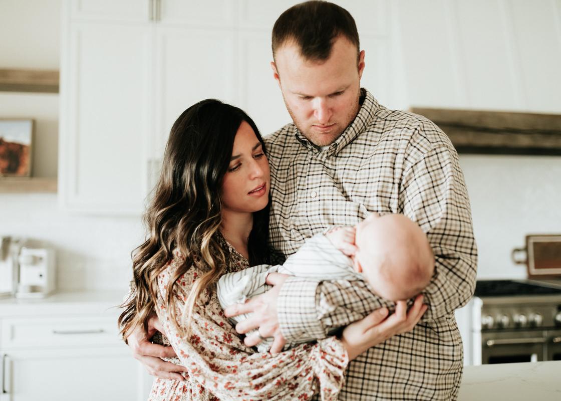 Megan Claire Photography   Cozy In Home Newborn Session. Arizona Newborn Photographer