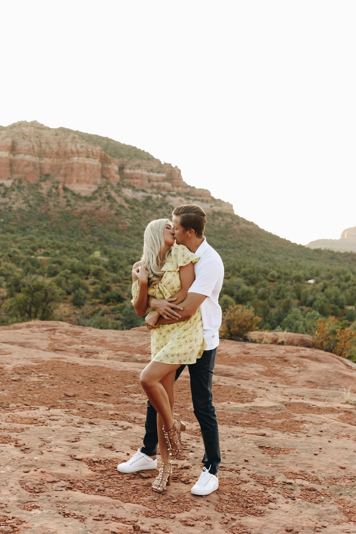 Megan Claire Photography | Adventurous Sedona Arizona Engagement Session