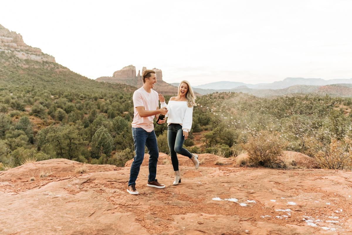 Megan Claire Photography | Adventurous Sedona Arizona EngagemenMegan Claire Photography | Adventurous Sedona Arizona Engagement Sessiont Session