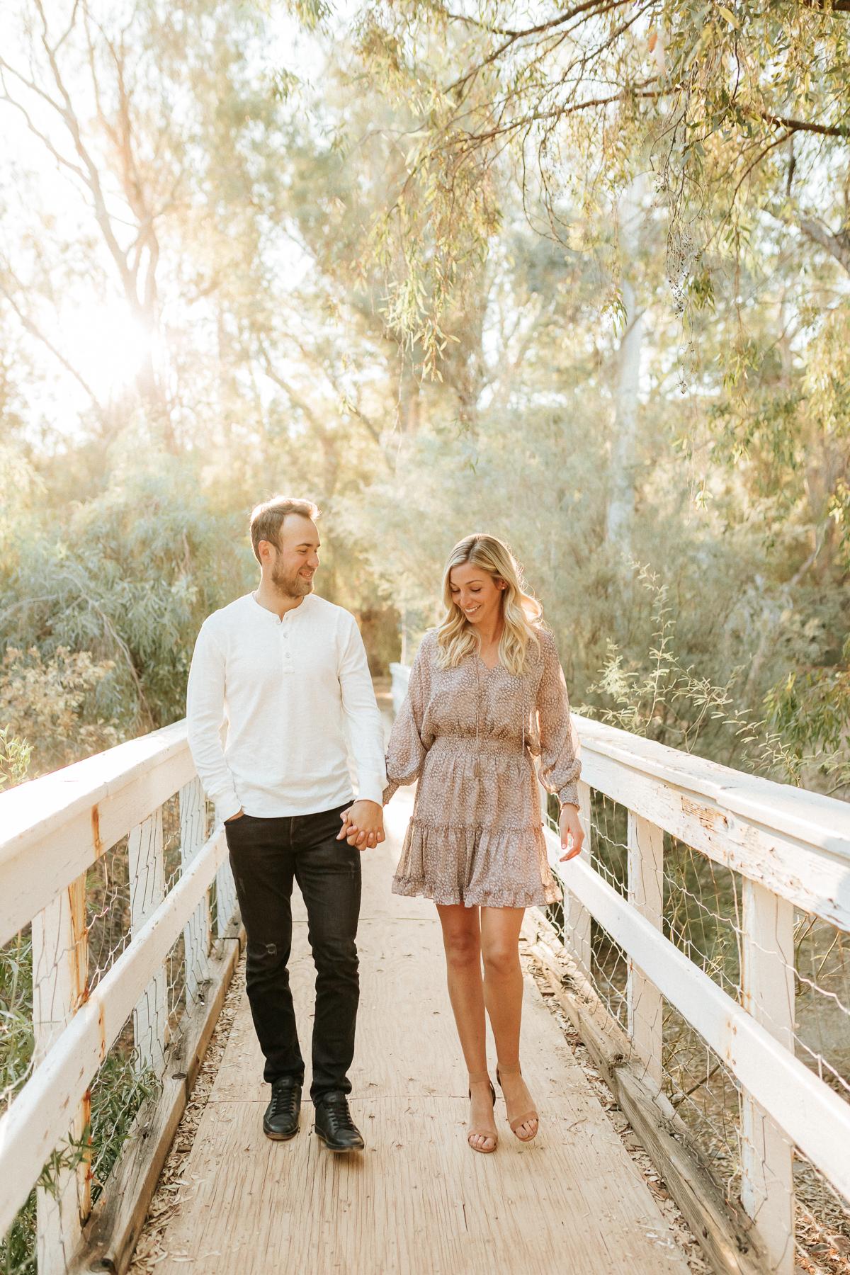 Megan Claire Photography | Arizona Engagement and Wedding Photographer. Playful Engagement Session at Boyce Thompson Arboretum
