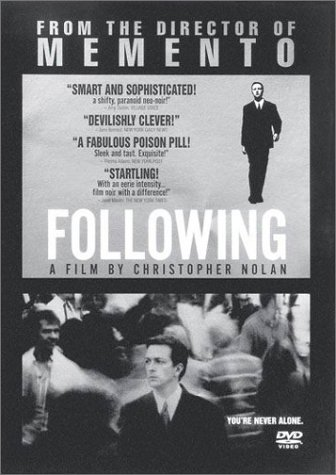 Christopher Nolan Following Poster
