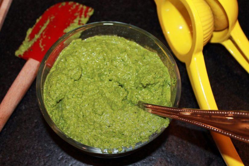 spinach-pesto