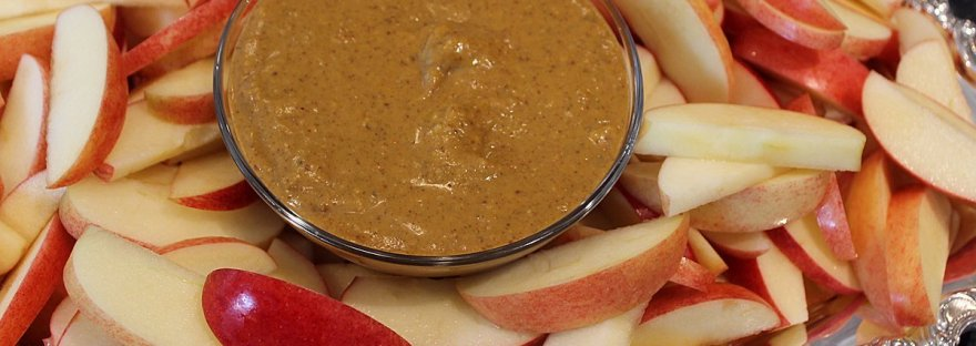 pumpkin almond butter dip