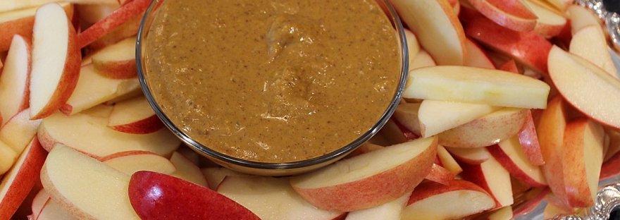 pumpkin almond butter dip