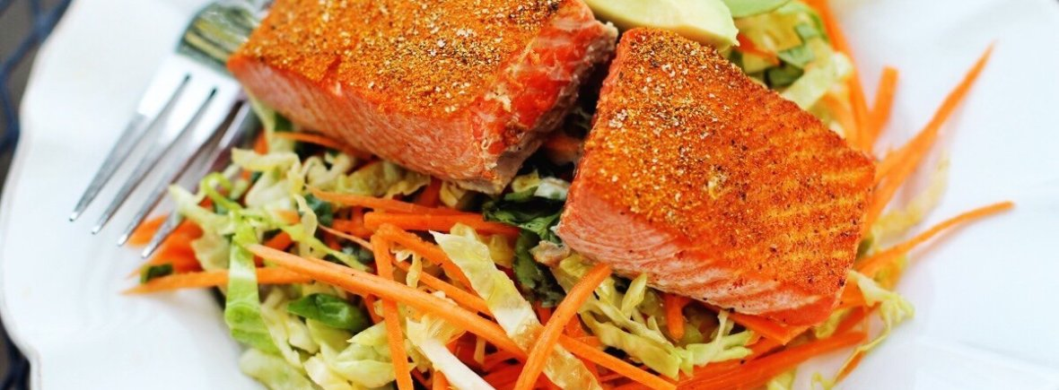 salmon and slaw