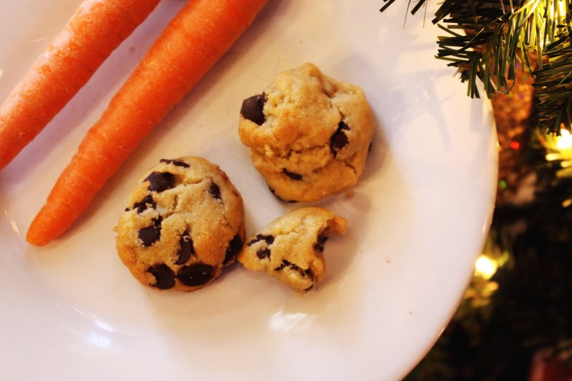 healthier chocolate chip cookie