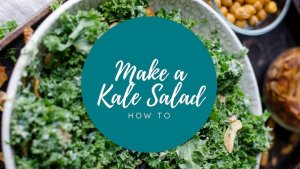 make a kale salad