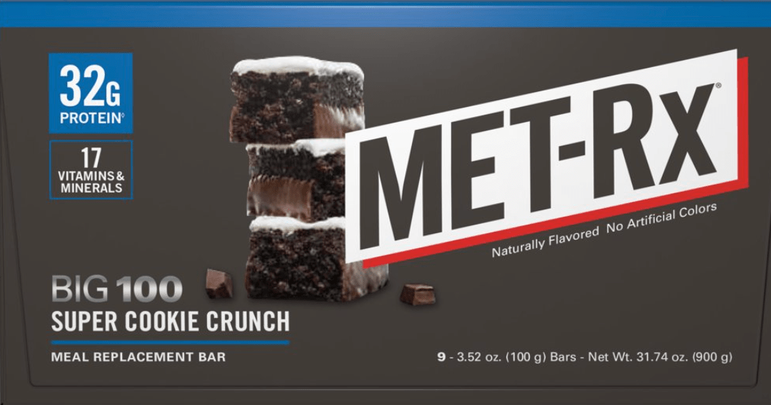 Churros On the go with MetRX Meal Replacement Bar