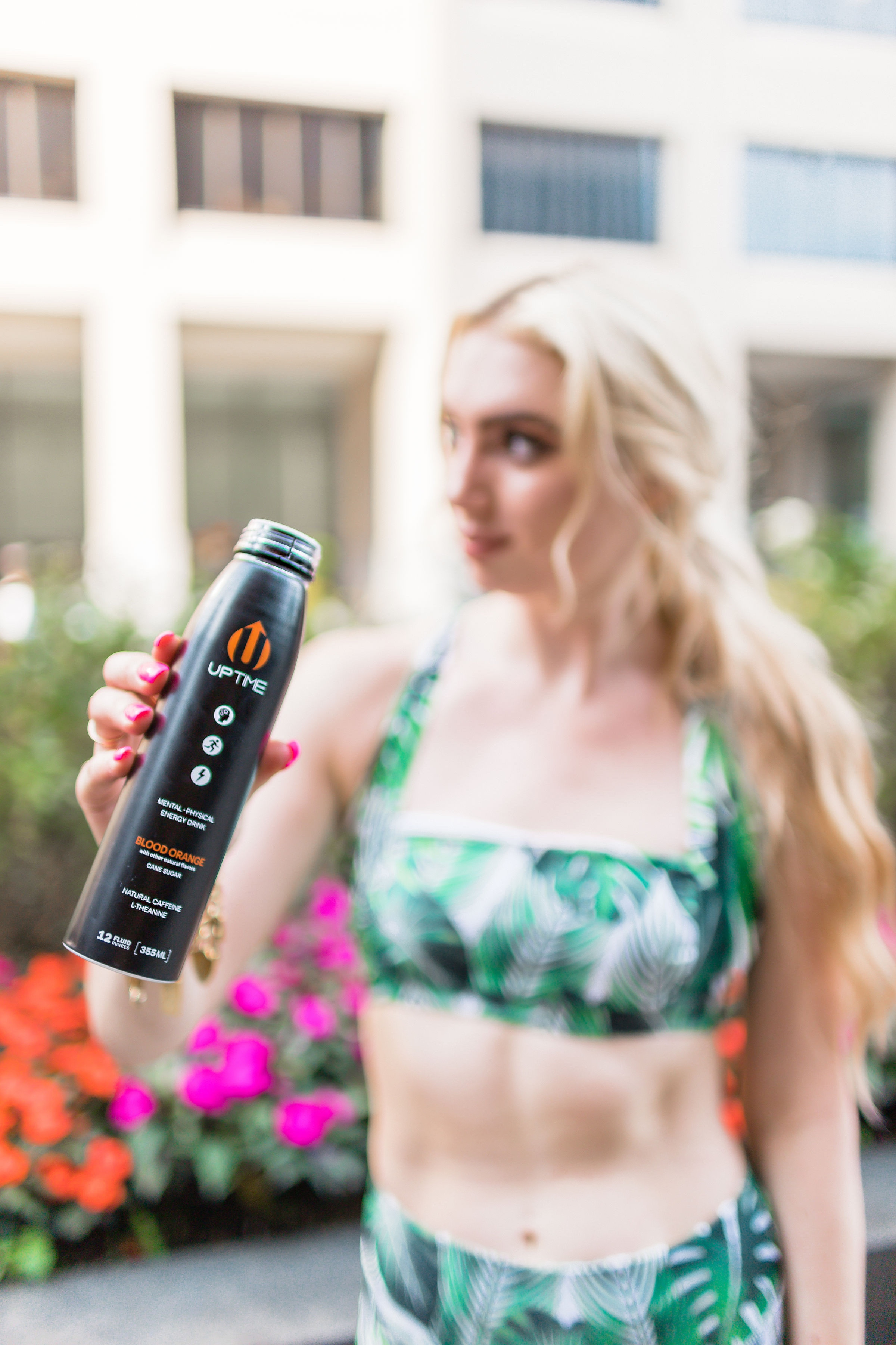 Fitness Energy Drinks | Every morning to Help With the Constant Alarm Clock in My Life | Tropical Workout Sets