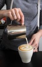Latte Art in Process
