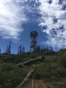 Fire lookout tower-Black Butte-hiking-Lost in the Right Direction novel