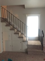 The staircase to the loft