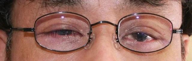 眼鏡装着状況