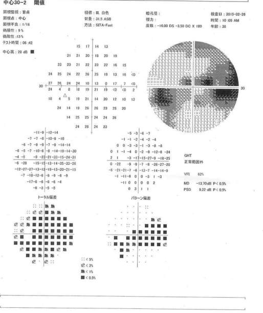 視野検査表1