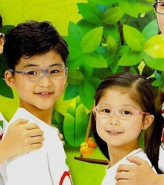 弱視等治療用眼鏡(0~7歳用) トマト