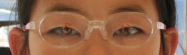 完成眼鏡実装