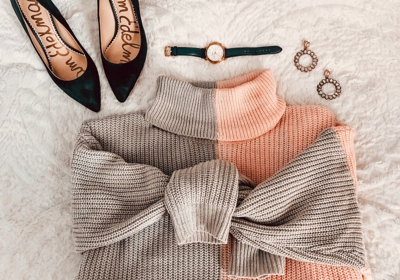 Sweater Weather – Color Blocking for Spring