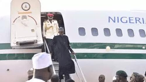 President Muhammadu Buhari arrives Nigeria after 103 days in London