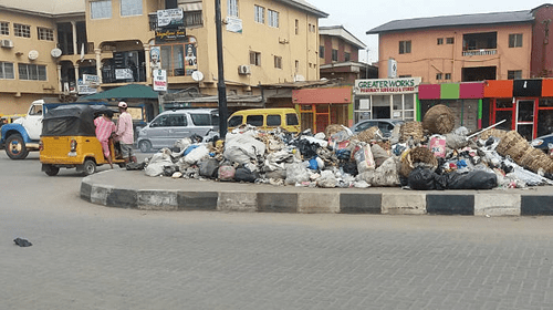 LAWMA battles refuse heaps across Lagos metropolis