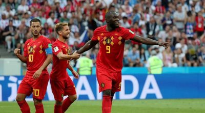 Belgium take outright top spot in new FIFA rankings