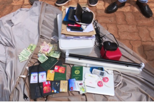 Yahoo Boy & Wife Busted In Their Home; SUV, Others Recovered