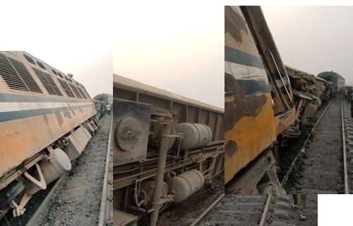UPDATE: One Dies, Many Injured As Train Derails In Lagos