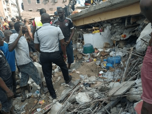 REVEALED: Birthday Boy Killed In Lagos Building Collapse 'Told His Mum He Didn't Want To Go School'