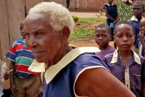 80-year-old Ugandan woman enrolls for Primary One, aims to become a teacher