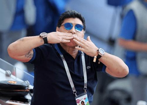 I nearly died – Diego Maradona