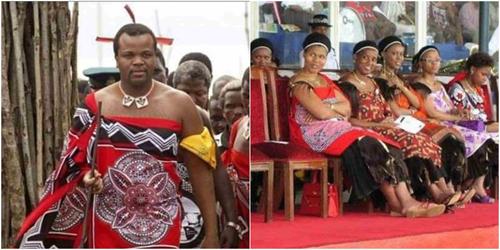 Image result for swaziland king