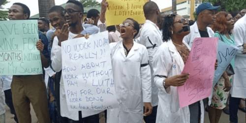 LUTH resident doctors embark on indefinite strike