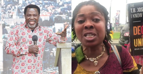 TRENDING: T.B Joshua raped me for 14 years, says woman