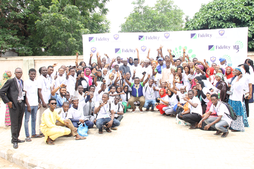 Fidelity Bank empowers youth with entrepreneurial skills