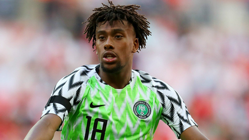 Arsenal receive £30million offer for Alex Iwobi