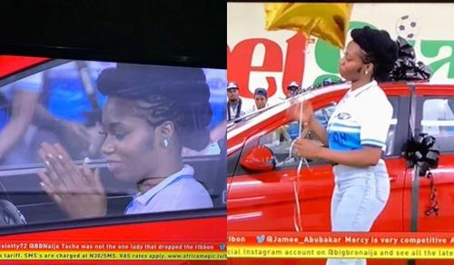 BBNaija: Khafi beats Mercy, wins a brand new car worth 4million