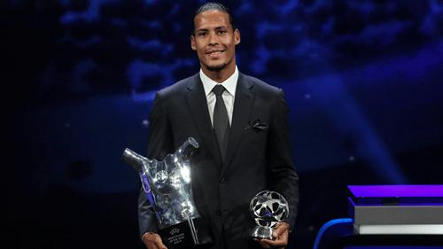 Van Dijk, Bronze pick UEFA Player of the Year awards + list of winners