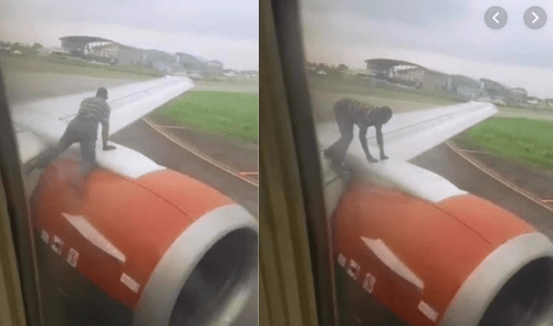 Nigerien man who climbed plane about to take off, deported by Nigerian government
