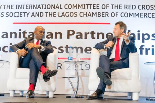 We partnered with Tony Elumelu Foundation to create economic opportunities -ICRC President says