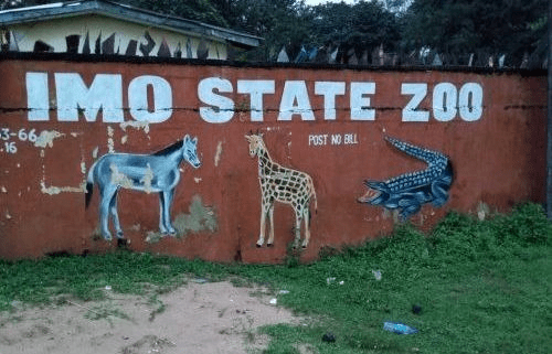 Hyena escapes from Imo zoo