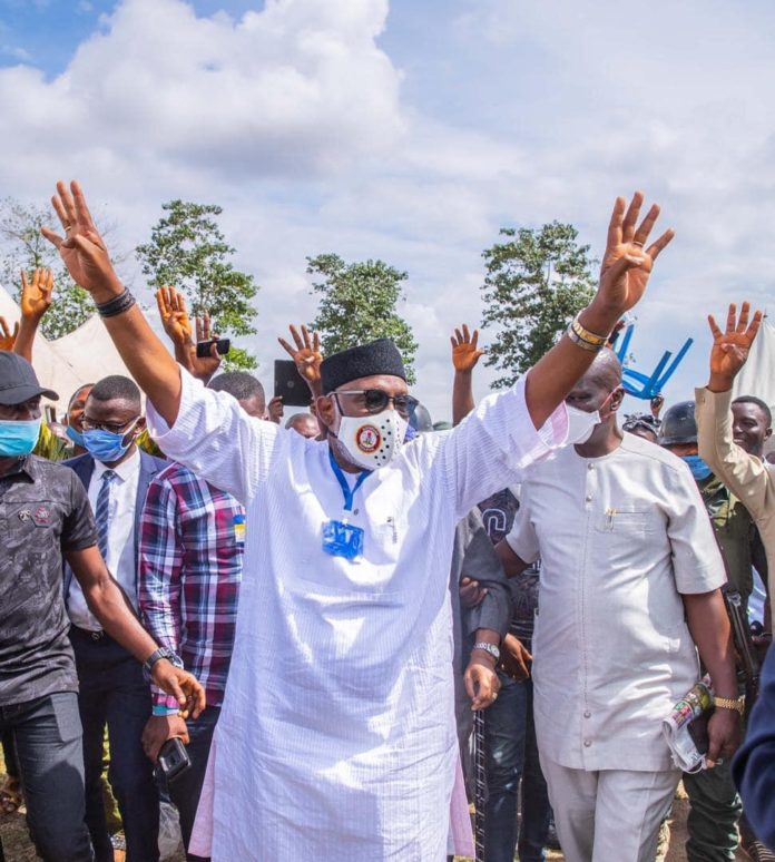 JUST IN: Akeredolu emerges APC governorship candidate in Ondo
